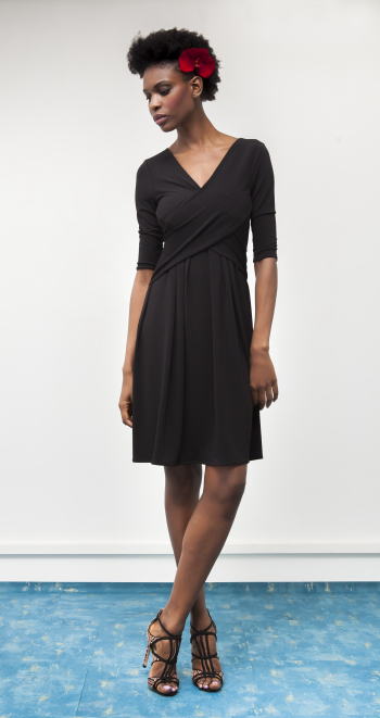"""Molly"" black dress"