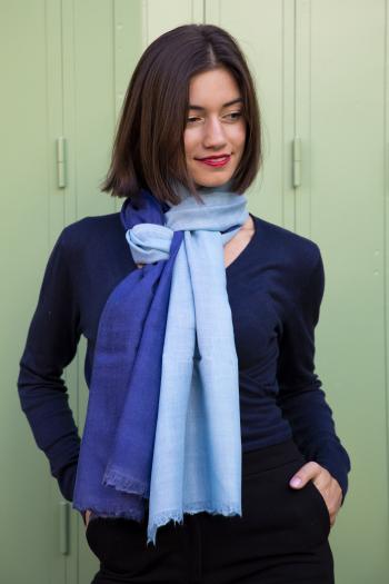 """Napoli Sky"" scarf"