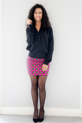 """""""Aissa"""" wax skirt"""