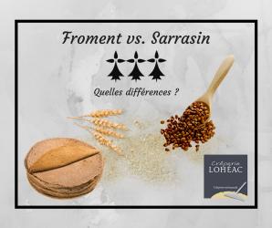 La Farine de Sarrasin et La Farine de Froment