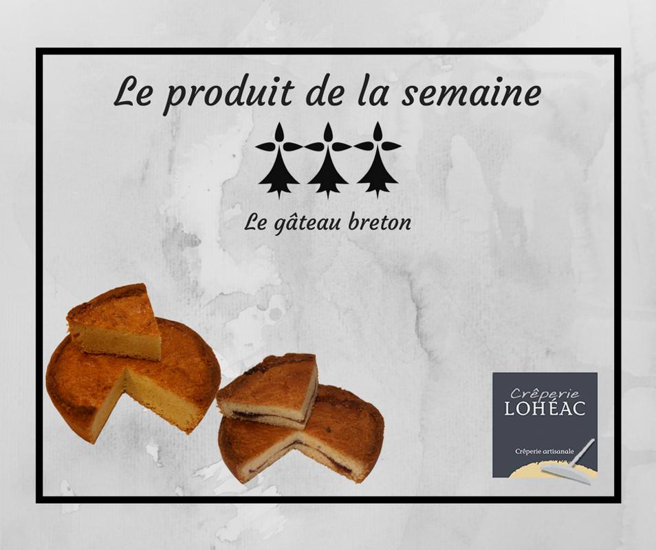 L'histoire du gâteau breton