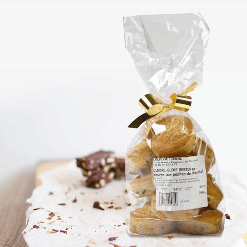 Quatre-Quarts Breton aux Pépites de Chocolat