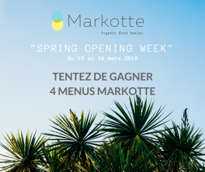 Jeux concours SPRING OPENING WEEK