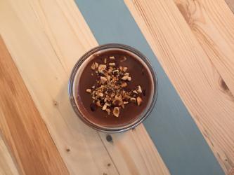 Crème chocolat aux noisettes torréfiées