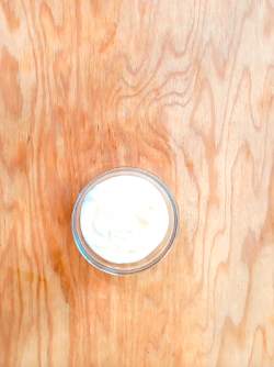 Fromage blanc nature, tout simplement