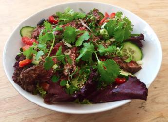 Salade de boeuf façon thaï