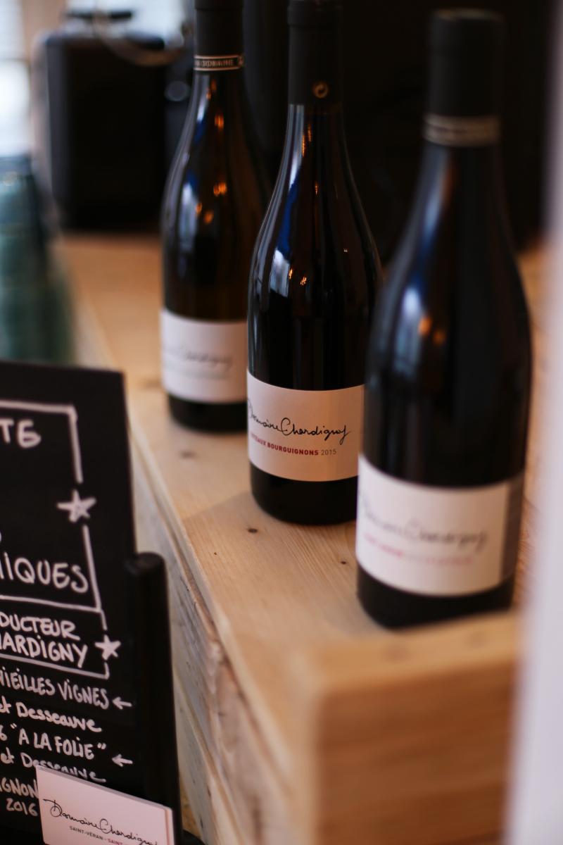 Verre de vin rouge - Saint-Amour 2016  « A la Folie »