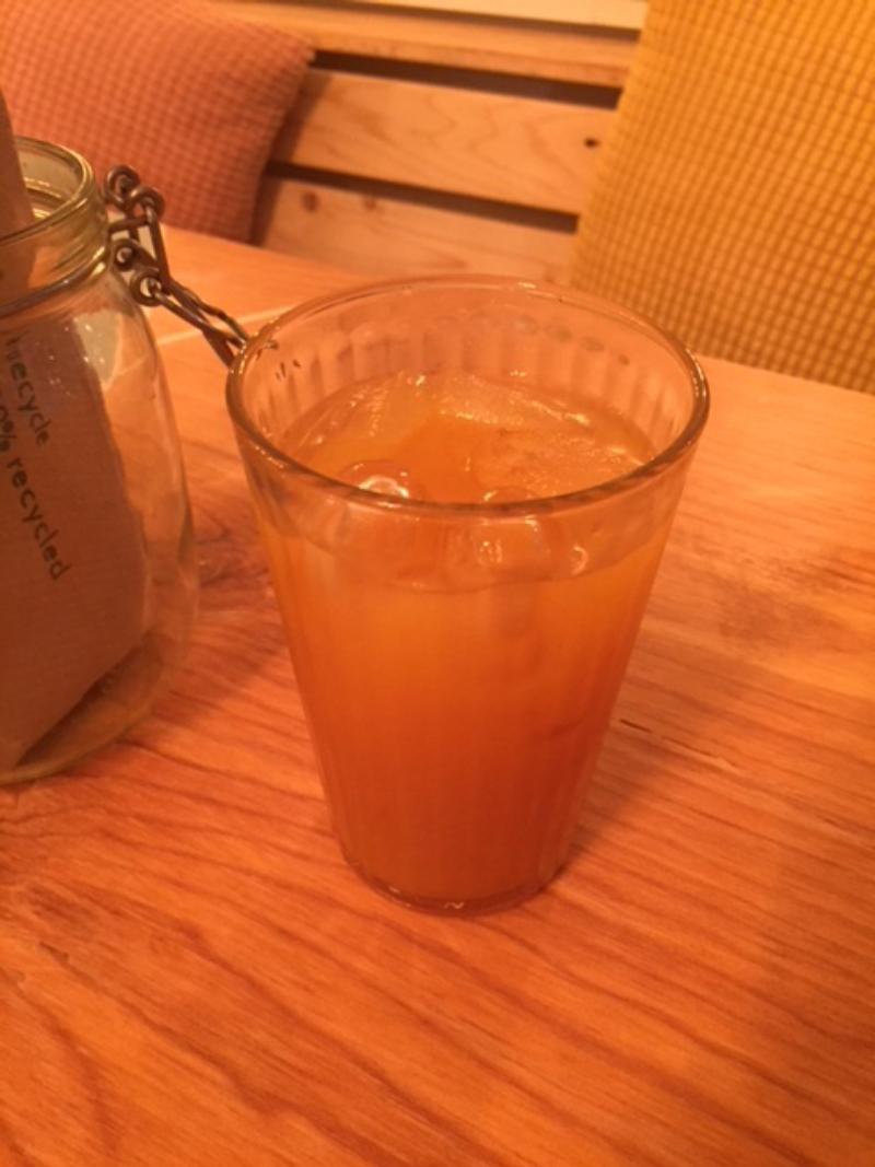 Jus pomme - pêche - abricot