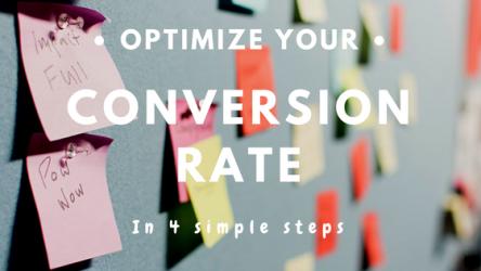 4 étapes simples pour optimiser son taux de conversion
