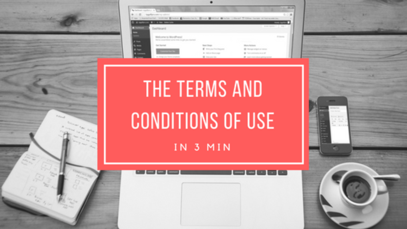Understand the terms and conditions of use in 3 min