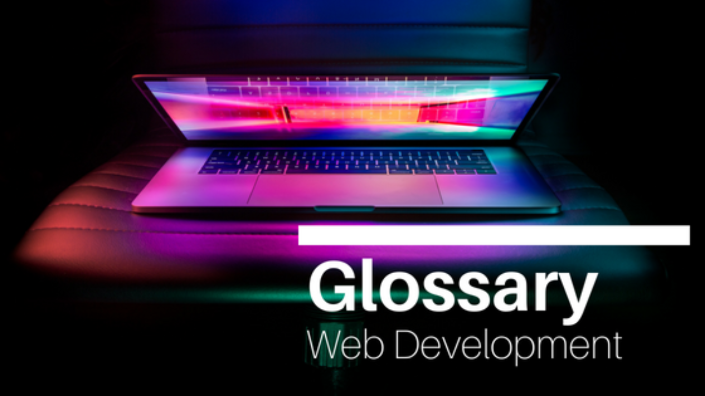 Create your website: web development glossary